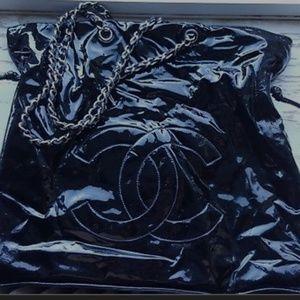 Chanel Patent Bon Bon 100% Authentic Purse/Bag/Tot